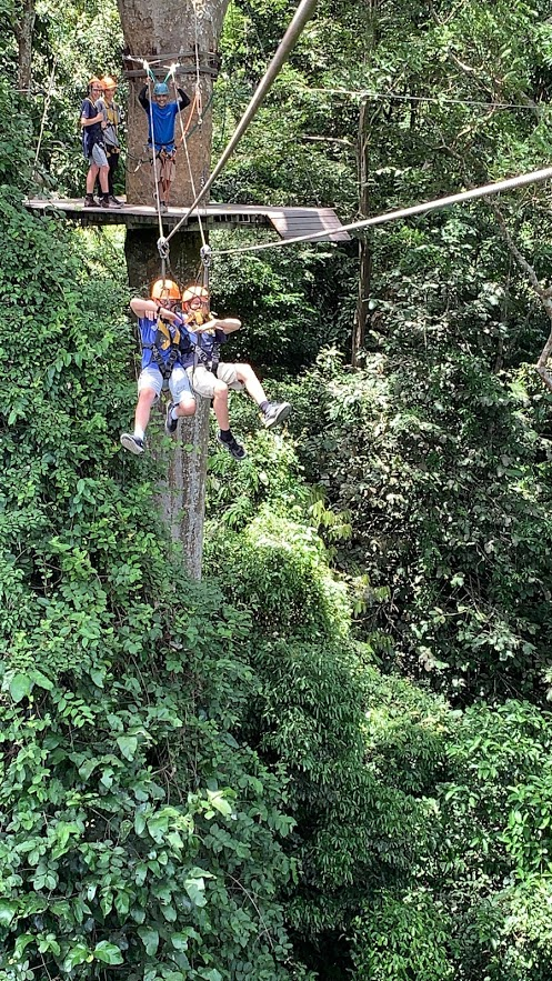 Zipline day tour from Bangkok