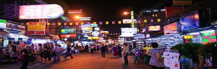 Khao San Road – The Place Where Bangkok Nightlife Begins