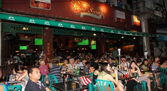 Center bar in Khao san Road