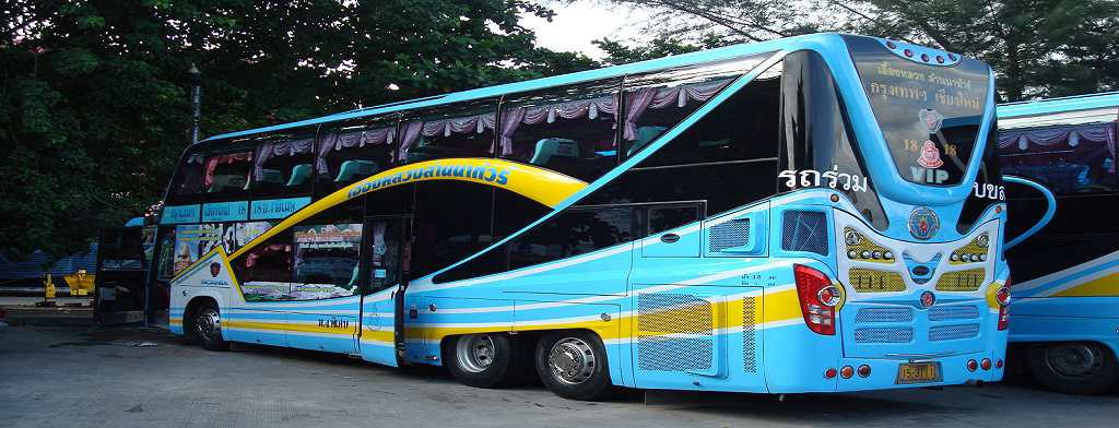 How to get from Bangkok to Chiang mai by bus