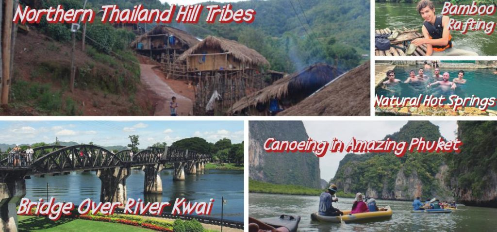 14 day family package to Thailand